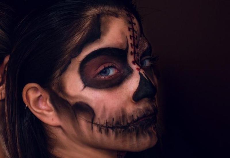 Страшный образ для Хэллоуин от известного гримера Гюльназ Байрамовой
