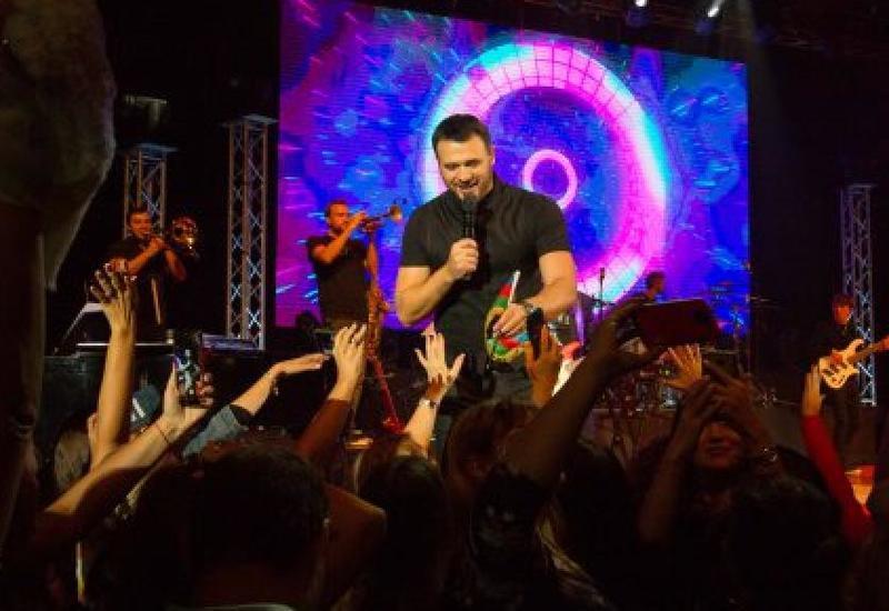 В Израиле прошел концерт Эмина Агаларова