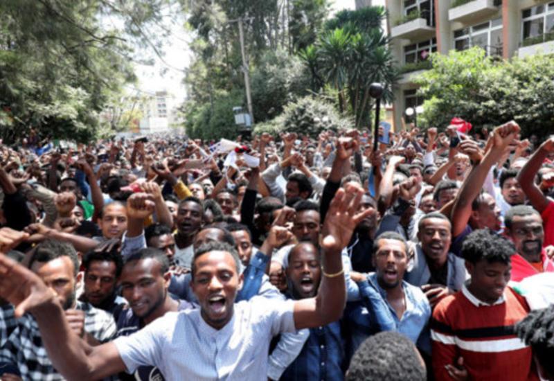 В Эфиопии продолжаются массовые протесты, число погибших резко увеличилось