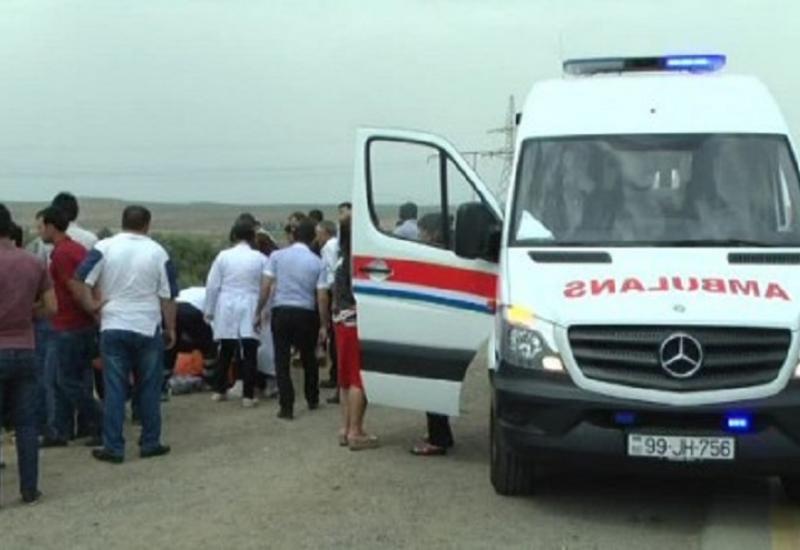 Тяжелое ДТП в Гобустане, есть погибшие и раненые