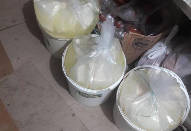 В Сумгайыте обнаружили контрафактную молочную продукцию