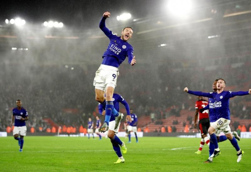 «Лестер» забил девять безответных мячей в ворота «Саутгемптона»