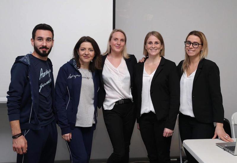Федерация гимнастики Азербайджана организовала в Баку курсы по TeamGym