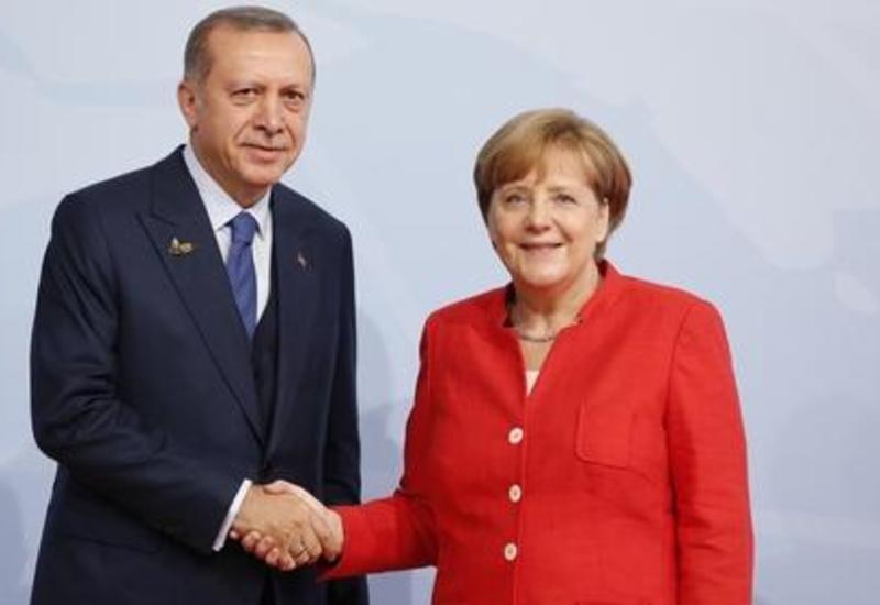 Эрдоган и Меркель провели переговоры