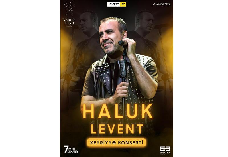 Халюк Левент проведет благотворительный концерт в Баку (R)