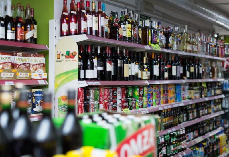 В крупных супермаркетах России запретили продажу алкоголя