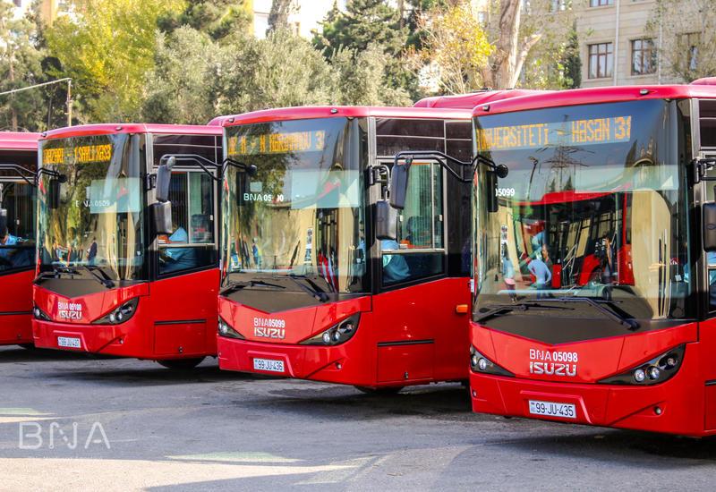 В нескольких районах Азербайджана не будет работать общественный транспорт