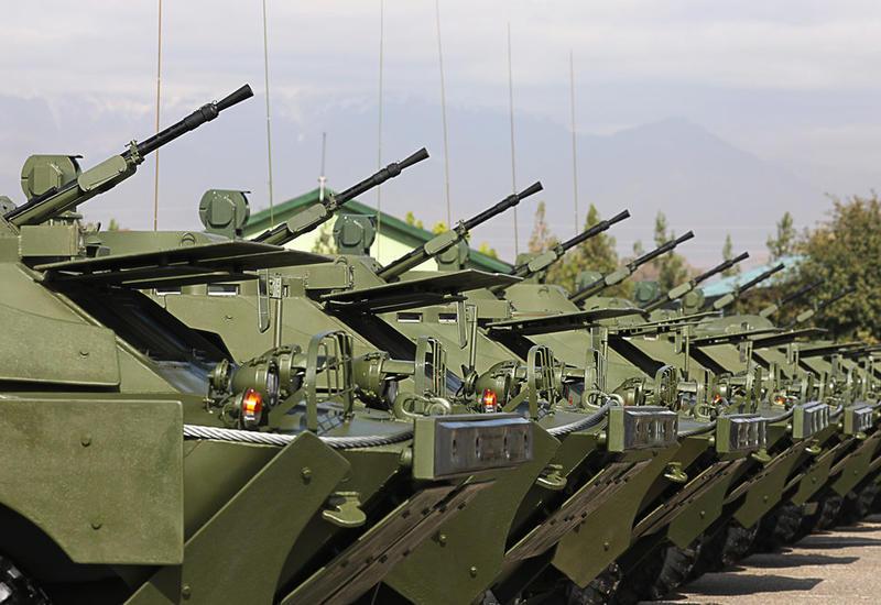 Россия передала Таджикистану военную технику на 320 млн