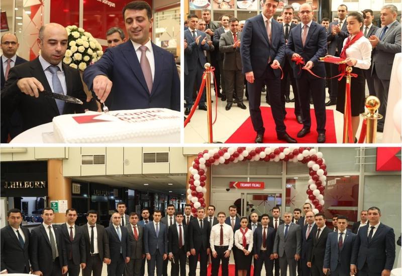 Kapital Bank открыл новый филиал «Тиджарет» (R)