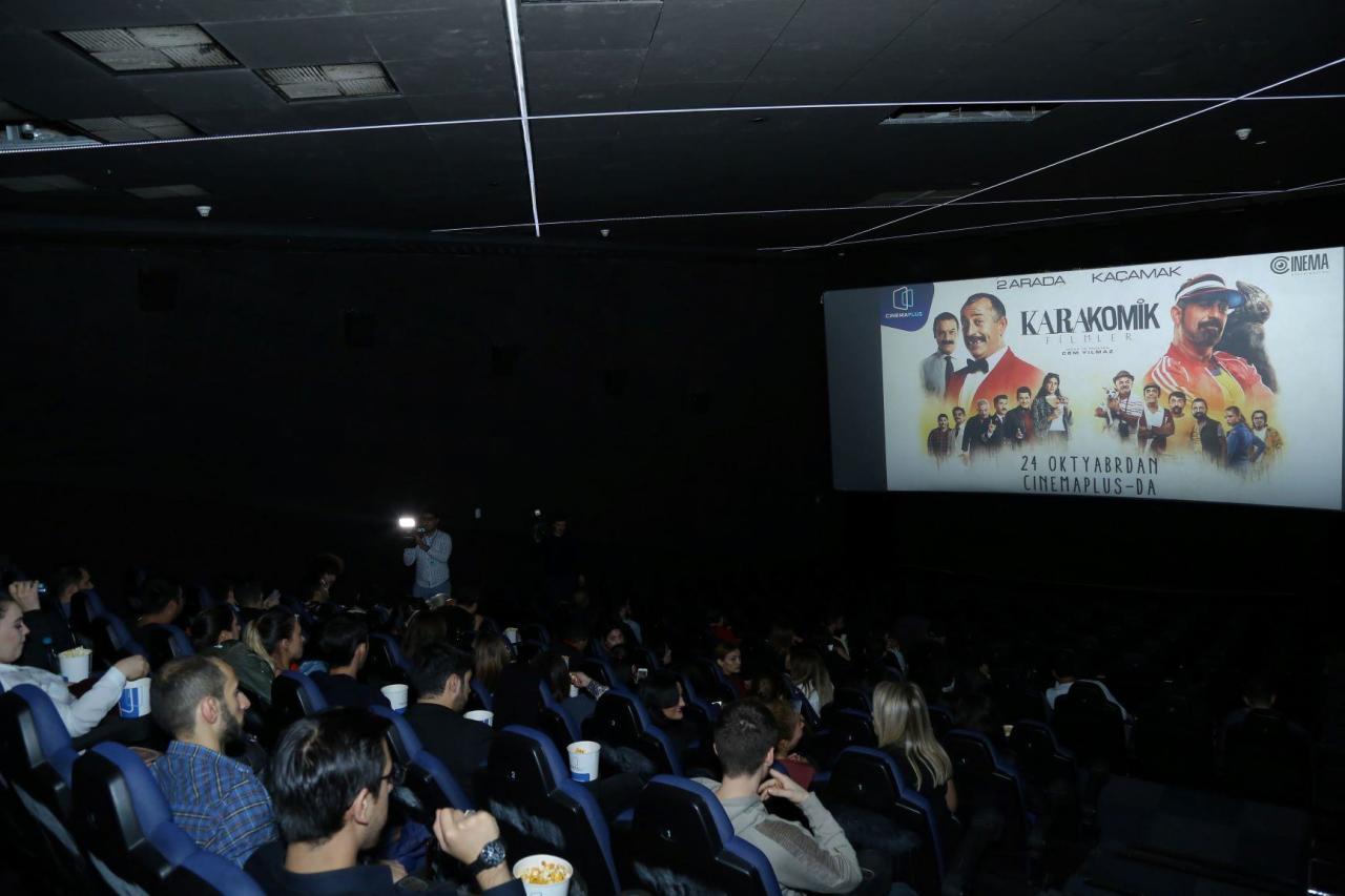 """В CinemaPlus прошёл показ комедии """"Karakomik Filmler"""""""