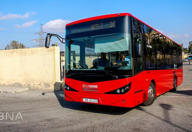 Изменен маршрут еще одного бакинского автобуса