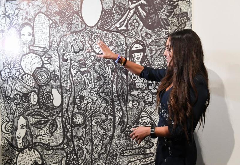 Вице-президент Фонда Гейдара Алиева Лейла Алиева приняла участие в открытии VIII Московского международного биеннале современного искусства