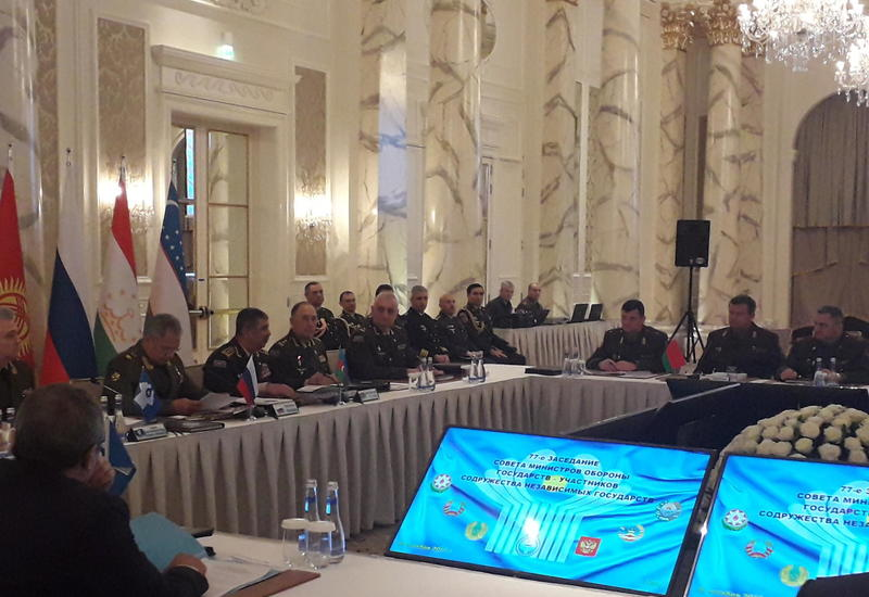 В Баку начало работу заседание Совета министров обороны стран-членов СНГ