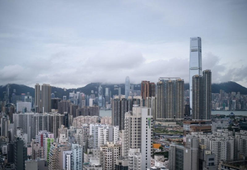 Гонконг оказался во власти рецессии впервые за 10 лет