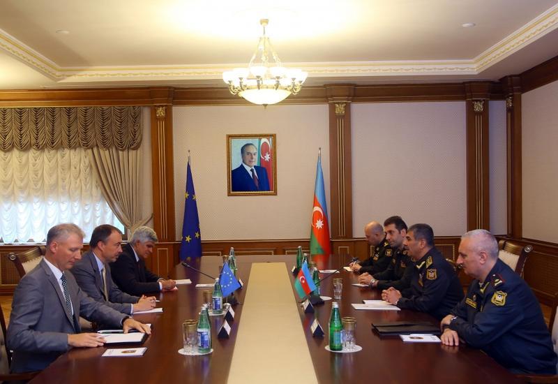 Закир Гасанов встретился со специальным представителем Евросоюза