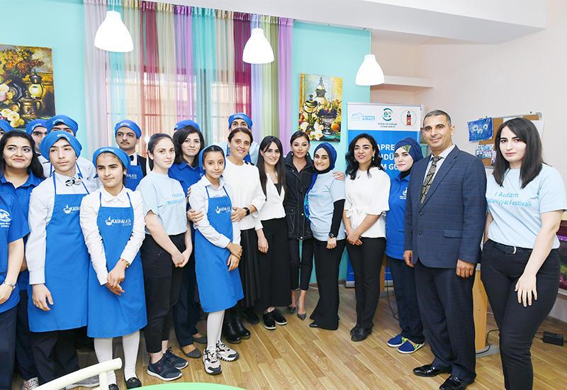 Первый вице-президент Мехрибан Алиева посетила Центр реабилитации детей с синдромом аутизма в Баку