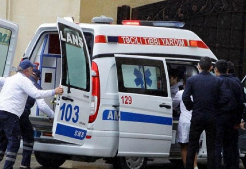 В Баку автобус сбил пешехода