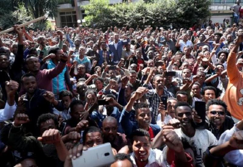 Более 70 человек погибли в результате протестов в Эфиопии