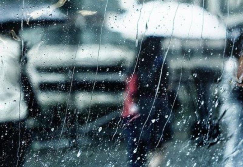 В Баку ожидаются проливные дожди