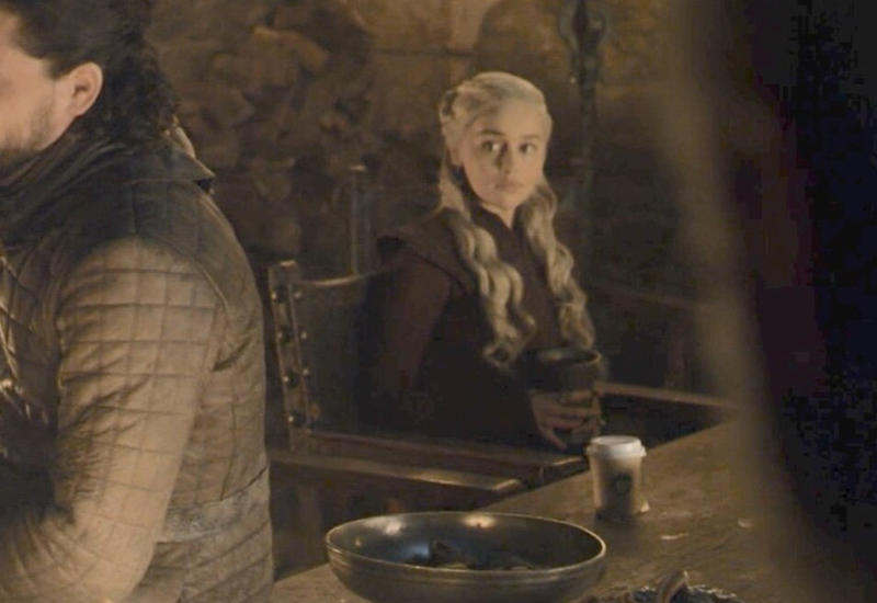 Раскрыт секрет появления кофейного стаканчика в «Игре престолов»