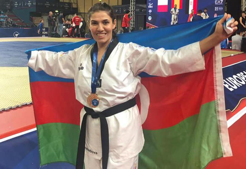 Азербайджанская паратхэквондистка в 4-й раз стала чемпионкой Европы