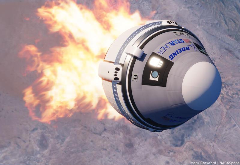 Boeing и NASA проведут испытания системы спасения экипажа корабля CST-100 Starliner