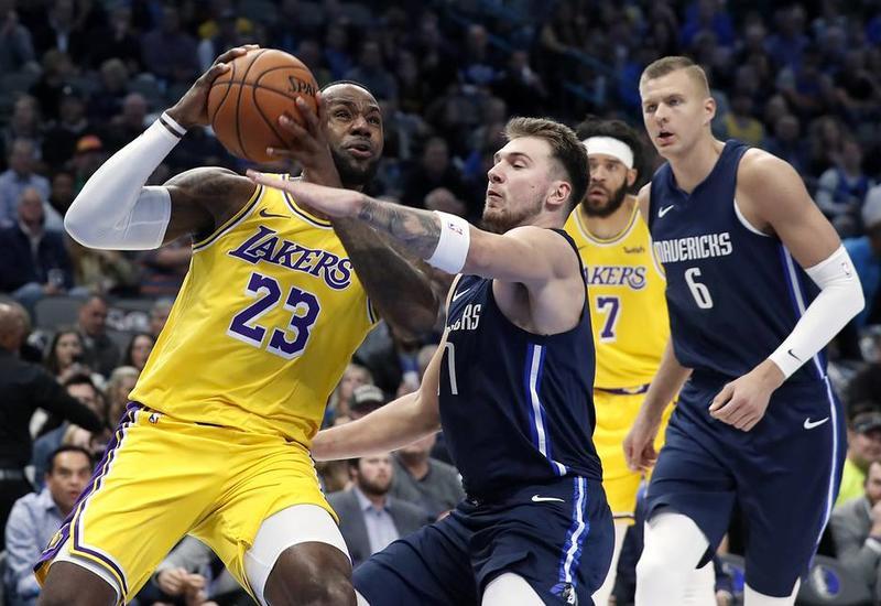 Леброн Джеймс и Лука Дончич стали соавторами рекорда НБА