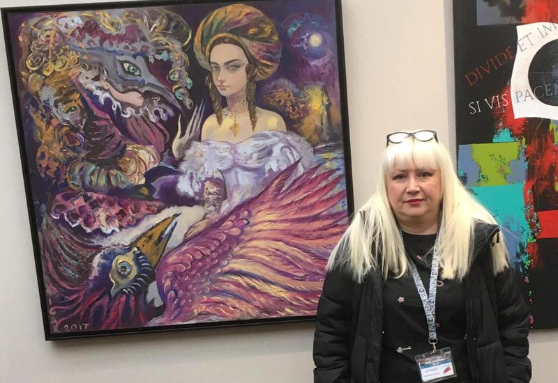 Нигяр Нариманбекова представит свои работы в выставочном зале Свято-Троицкого собора в Париже