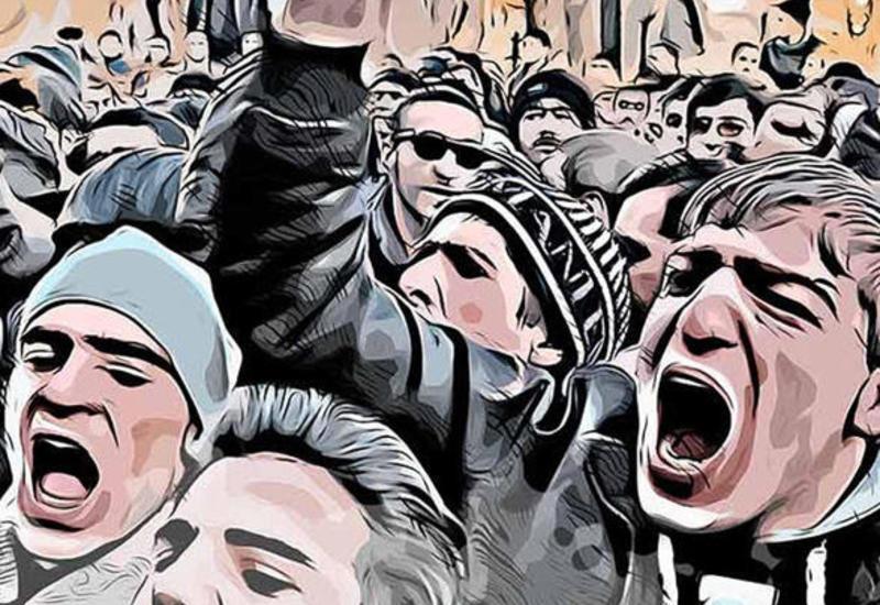 """""""Круглый стол"""", организованный партией """"Мусават"""", был составной частью политического шоу"""