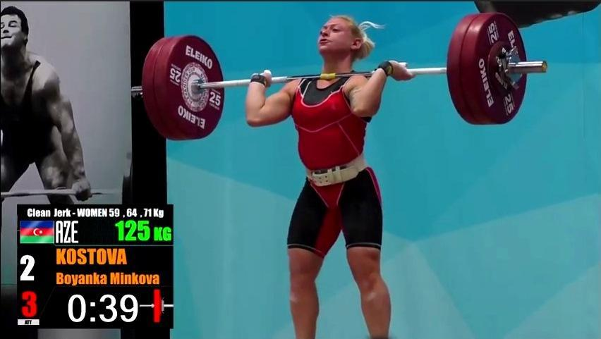 Азербайджанская тяжелоатлетка выиграла престижный международный турнир