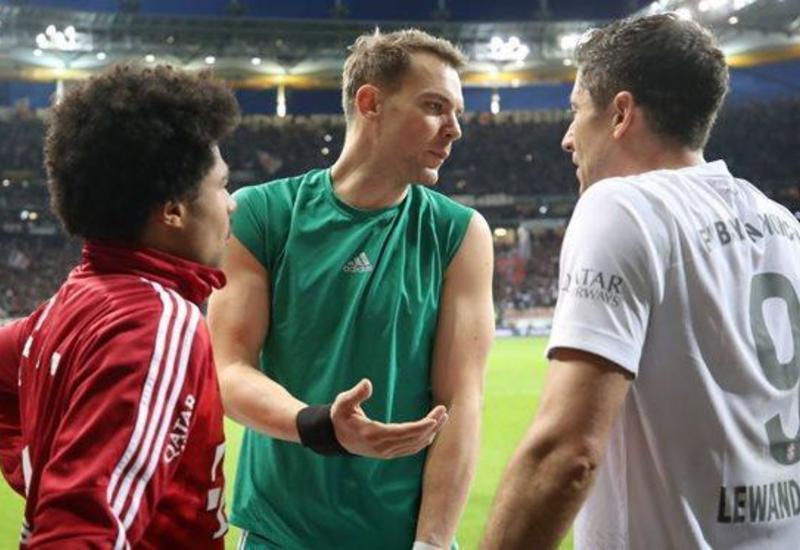 «Бавария» с разгромным счетом проиграла «Айнтрахту»