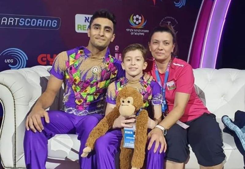 Азербайджанские акробаты стали чемпионами Европы