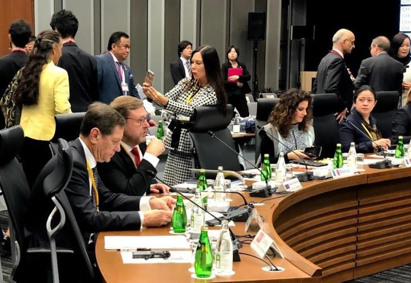 """Парламентская """"двадцатка"""" в Токио выступила против протекционизма и коррупции"""
