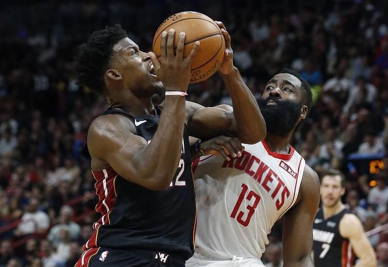 """""""Майами"""" обыграл """"Хьюстон"""" в НБА, установив клубный рекорд по очкам в первой четверти"""