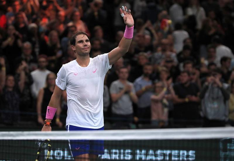Надаль вышел на первое место в рейтинге ATP