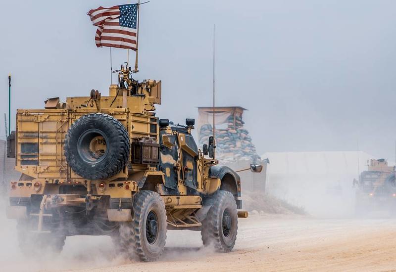 Крупная военная колонна США выдвинулась с северо-востока Сирии к границе с Ираком