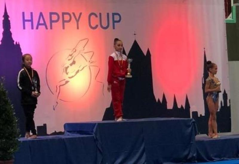 Азербайджанские гимнастки вернулись с «золотом» из Бельгии