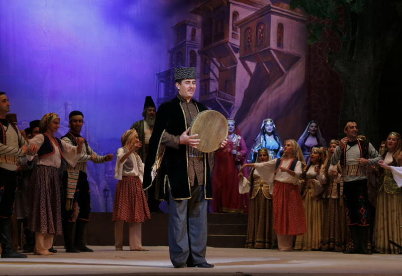 """В Театре оперы и балета состоялся успешный показ оперы """"Вагиф"""""""