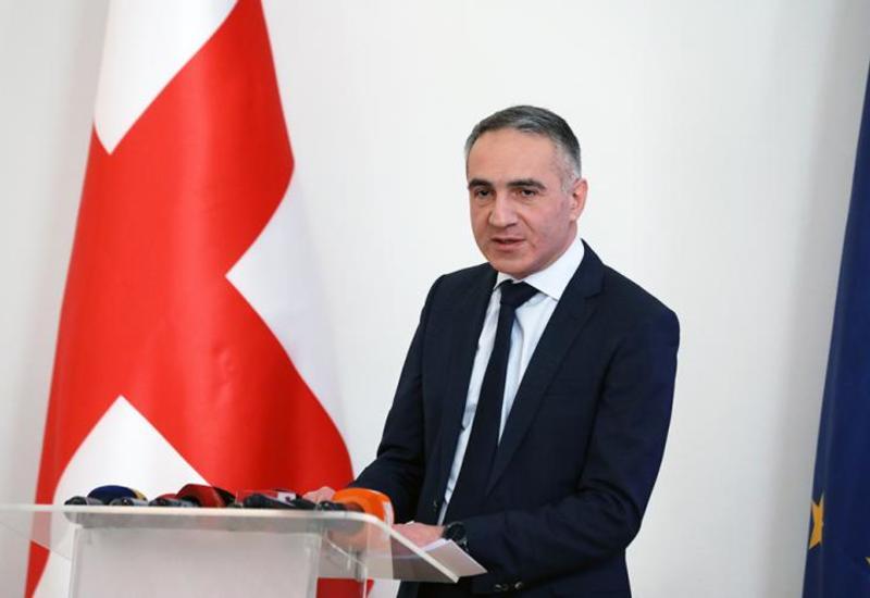 Грузинский министр подал в отставку