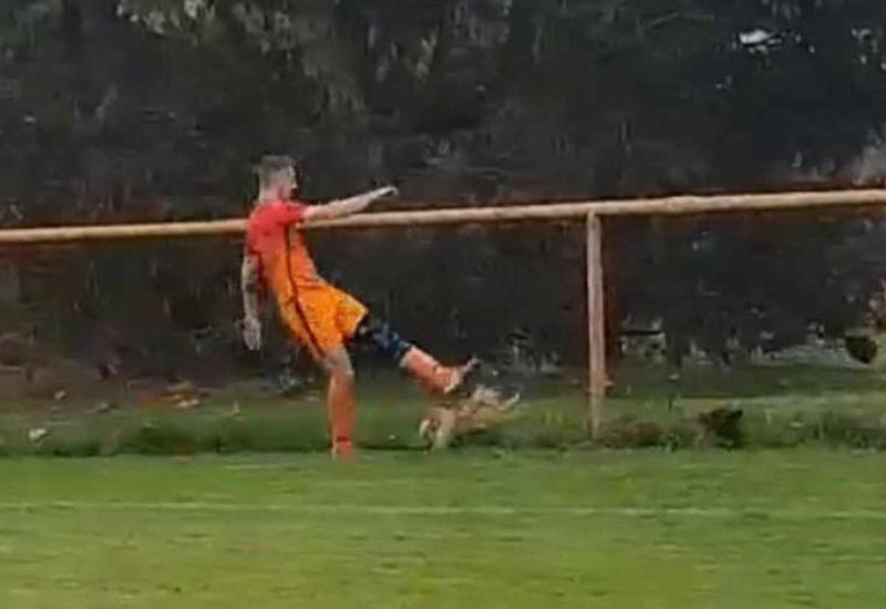 Футболист убил курицу ударом ноги во время матча и был удален