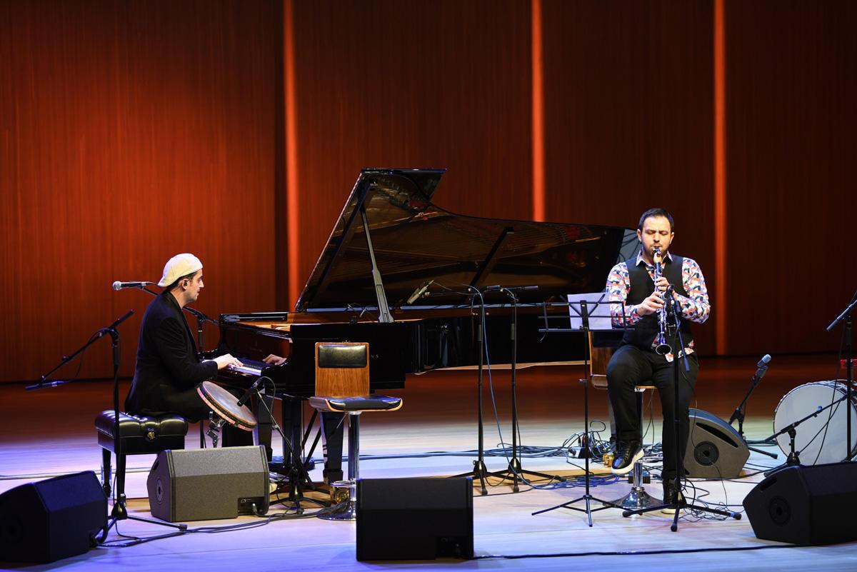 В Центре Гейдара Алиева выступил известный пианист и композитор Руслан Агабабаев