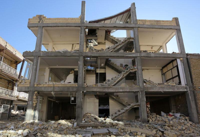 Появились страшные кадры землетрясения в Иране