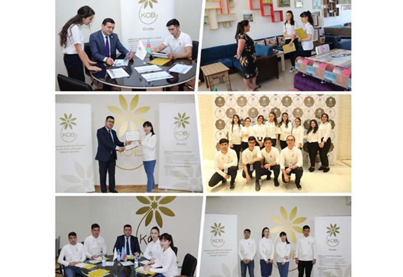 Агентство по развитию МСБ Азербайджана трудоустраивает своих волонтеров