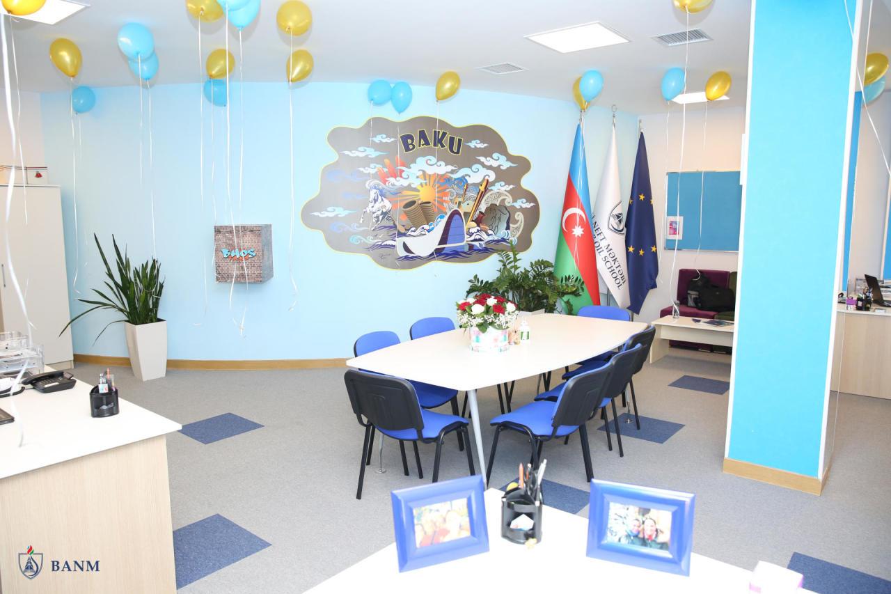 Офис Erasmus + и Международных Программ открылся впервые в Азербайджане в БВШН