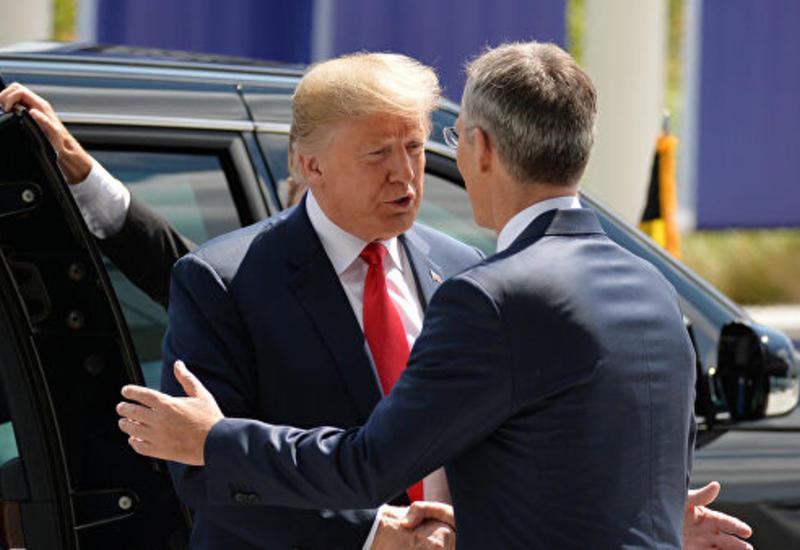 Трамп встретится с генсеком НАТО