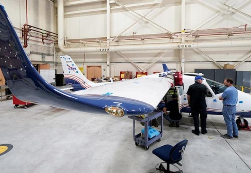 NASA представило свой первый электрический самолет