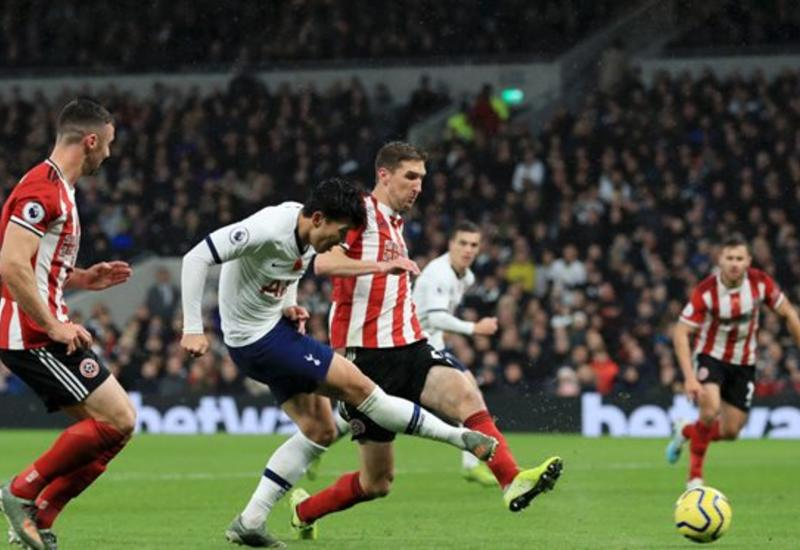 «Тоттенхэм» упустил победу над «Шеффилд Юнайтед» в матче чемпионата Англии