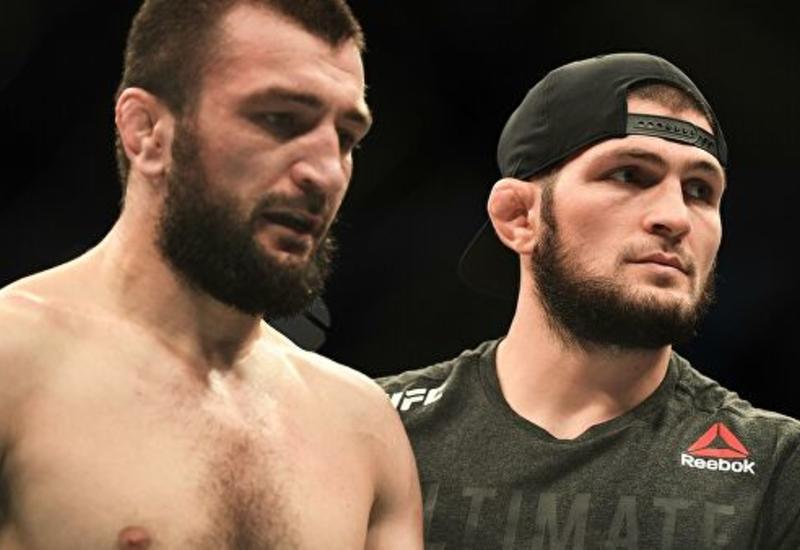 Хабиб поддержал брата после поражения на турнире UFC в Москве