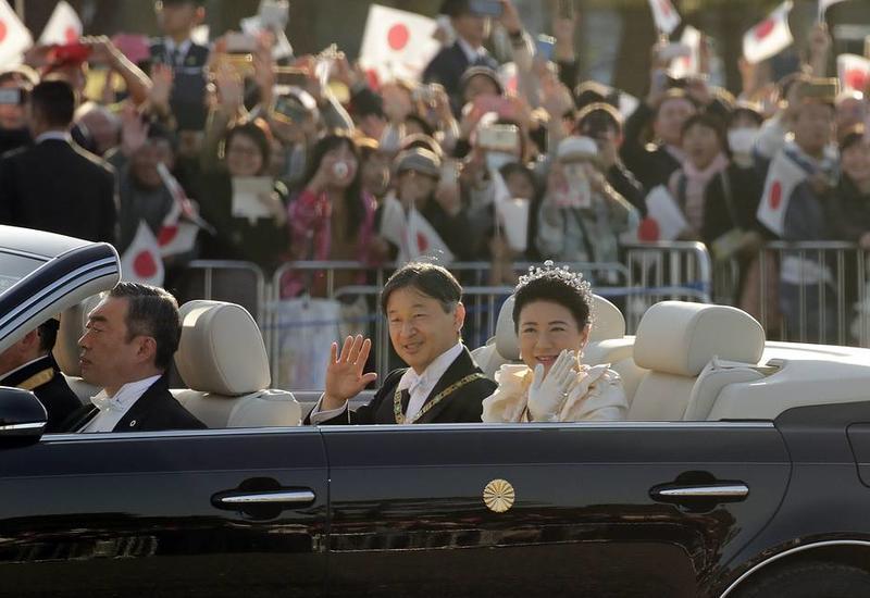 В Токио начался торжественный парад в честь интронизации императора Японии