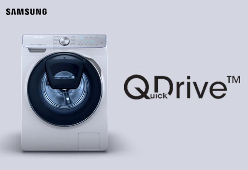 Samsung Add Wash с технологией QuickDrive ™ - тратьте меньше времени на стирку и больше времени на себя (R)